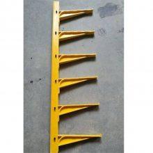 玻璃钢电缆支架 螺钉式电缆沟托架 SMC树脂模压支架 复合材料预埋式支架