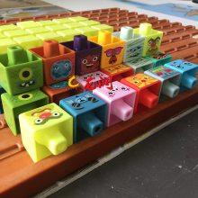 早教塑料积木平板打印机 玩具外壳UV喷印机厂家