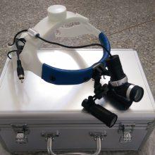 头戴式手术显微放大镜4X带LED充电冷光源
