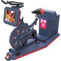 vr全景自行车v4.0 场景内容可导入适合景区健身房娱乐场所等vr虚拟现实设备TOPOW