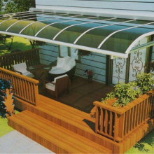 订做铝合金别墅雨棚露台棚 铝合金雨棚遮阳棚露台 别墅铝合金雨棚
