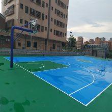 塑胶篮球场材质