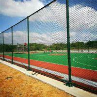 带法兰盘球场围网 定做各种规格篮球场围网 pvc包塑