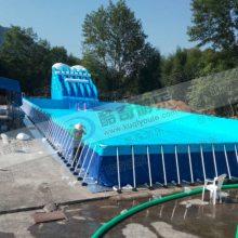 室外大型儿童气垫游泳池厂家