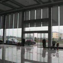 北京大兴窗帘定做办公窗帘阳光面料电动卷帘