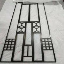 酒店会所黑钛不锈钢屏风 201点焊镜面 仿古铜金属镂空 中式铝雕花格