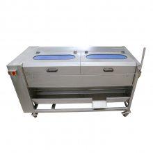 祥九瑞盈 土豆清洗去皮机RYTP1500 土豆清洗机 商用厨房设备厂家直销