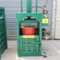 玉米秸秆青储打包机160型卧式液压全自动钢带机 60吨液压废纸打包机富兴