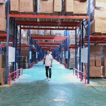中山高位式货架 简易货架 钢制阁楼 中山高位式货架