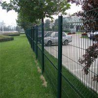 三角折弯护栏网 公园护栏网 厂区围墙护栏网