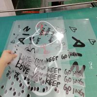 南山厂家打印高透车身贴 超透UV彩白贴膜定制
