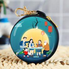 中秋节创意玩具礼品定制零钱包 可爱动漫卡通周边礼品玩具小钱包 中秋促销礼品低价批发厂家