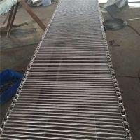 厂家供应不锈钢支轴链传动链 肉食品链条式输送带流水线 承重能力强