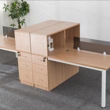 办公桌 职员桌 简约现代单人2人4人6人位 办公家具 屏风工位