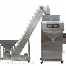 鸡鸭饲料称重袋装机 禽类食物颗粒包装机 化工粉末定量包装机