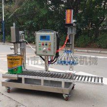 树脂灌装机厂家 广东涂料过滤灌装包装线