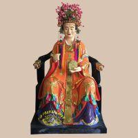众缘雕塑道教神像八卦奶奶 树脂玻璃钢神像 热销爆款老母奶奶佛像 十二老母图片