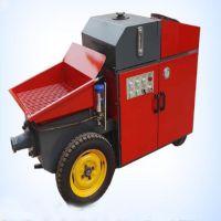 细石混凝土泵 小型混凝土输送泵 二次构造细石输送泵