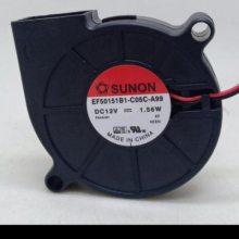 全新SUNON PMD2407PTV1-A 24V 4.8W 7025 2线变频器散热风扇现货