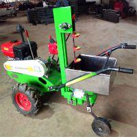 多功能根茎类药材收获机 四轮带挖药材机 大蒜收获机设备
