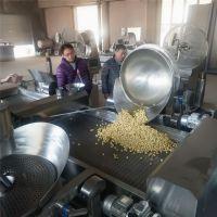 专用爆裂玉米美式爆米花机流水线/国内电磁大型爆米花机器流水线/可定制