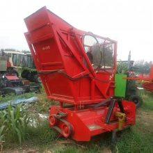 玉米秸秆青储粉碎回收机 秸秆切碎收集机 新型秸秆回收机价格