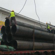 湖北铁制滤水管325护壁管 钻井带孔钢管生产厂家