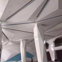 广州异形幕墙铝单板厂家定制规格|造型组合铝单板天花厂家制造