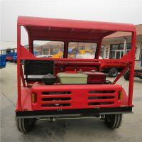 工程用电启动四轮自卸车_出口品质一吨翻的前卸式翻斗车_新品上市