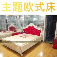 主题欧式床主卧床婚床双人水床情趣家具电动床情趣电动床性爱床