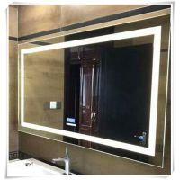 专业定制圆形防雾镜 LED发光镜 酒店浴室镜 智能镜子 出口品质