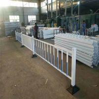 河南许昌厂家定制pvc市政道路护栏、人行道隔离护栏