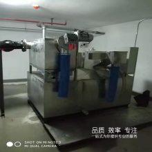 地下停车场半自动隔油提升一体化设备 厨房餐饮用油水分离器