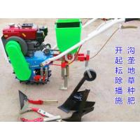 小型玉米大豆施肥播种机 手扶汽油微耕机 多功能耕耘机