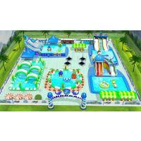 山西移动水上游乐设备,大型支架水池游乐园