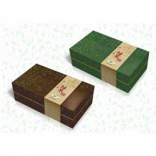 深圳南山茶叶包装盒定制设计,天地盖礼品盒定做,绿茶精装盒生产定制