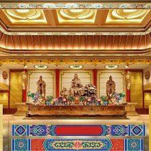 古建寺庙吊顶_寺庙彩绘吊顶_寺院天花板吊顶