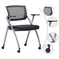 可折叠培训椅-带写字板培训椅-会议培训椅