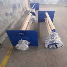 双管长轴液下泵 耐磨立式渣浆泵选型