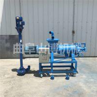 定制加强版稠粪泵干湿分离机 鱼饲料有机肥料加工设备固液分离机