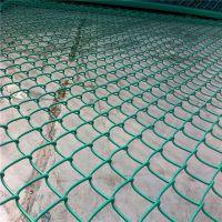 绿色勾花网价格 球场勾花网护栏 兴来菱形网的编法