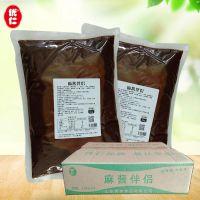 厂家批发秘制麻酱伴侣150克 火锅蘸料芝麻酱调味汁oem贴牌代加工