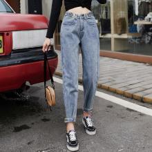 吉林白山批发尾货牛仔裤秋季韩版女装牛仔裤低价工厂供应便宜牛仔裤货源