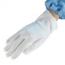 涤棉手套 普通劳保工厂车间作业手套 吸汗防滑白色礼仪手套舒适透气600双/箱