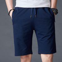 夏季男式纯棉休闲短裤针织裤男青少年运动短裤男士户外跑步五分裤