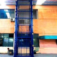 淮北市导轨升降货梯 液压导轨式升降机大吨位升降平台