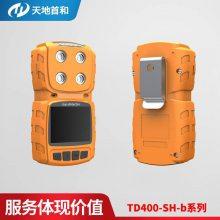 天地首和便携扩散式复合气体硫化氢,氧气,可燃,一氧化碳检测仪TD400-SH-B-M4