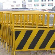 厂家供应施工防围挡交通铁马护栏交通隔离栏 铁马临时护栏 活动铁马护栏