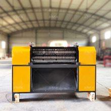 邢台散热片拆解机厂铜铝切割分选散热片分解机质优价廉