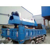 梅州机制砂污泥处理设备,石英砂泥浆用什么设备处理? 选用卧螺离心机。